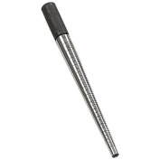 APT-TJ9710 Jewellers HD Ring Mandrel Solid Steel, Silver w/knurled Grip 30cm