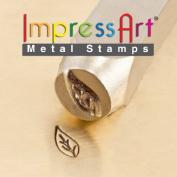 ImpressArt- 9.5mm, Leaf Left (Large) Design Stamp