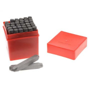 36 Piece Letter & Number Punch Set For Stamping Metal Large 1/4 Inch 6mm