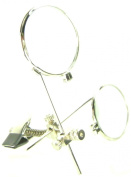 jeweller'S EYE LOUPE Clip on Eye Glasses Jewellery Making Repair Magnifier Craft