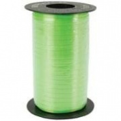 Lime Green Curling Ribbon - Lime Green Balloon Ribbon - 500 Yards