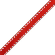 Red Dash Ribbon | 25 Yds