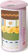 Scrapworks Tailored Canvas Ribbon Citrus 5 Yards Total Coordinated Theme