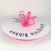 0.6cm Rose/Shocking Pink Grosgrain Ribbon 50 Yards Spool Solid Colour.