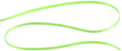Kel-Toy Double Face Satin Ribbon, 0.3cm by 50-Yard, Neon Green