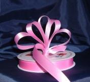 Ribbon - Satin Ribbon- 1.6cm Single Face 50 Yards (150 FT) - Pink - Sewing - Craft - Wedding Favours