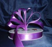 Ribbon - Satin Ribbon- 1.6cm Single Face 50 Yards (150 FT) - Purple - Sewing - Craft - Wedding Favours