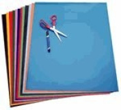 Super Glossy Paper 17cm . x 22cm . 12 colours pack of 96