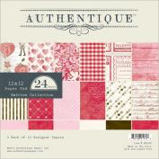 Smitten Paper Pad 30cm x 30cm 24/Sheets-12 Designs/2 Each