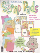 Provo Craft Scrap Pad That's My Baby 32 Pages - 22cm x 28cm Very Cute Backgrounds, Cut-Outs, Solids, Prints & Patterns