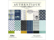 Suave Paper Pad 30cm x 30cm 24/Sheets-12 Double-Sided, Textured Designs/2 Each