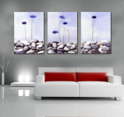 ASIA MODERN ABSTRACT WALL ART PAINTING ON CANVAS NEW Style ! (NO FRAME?Stone flower