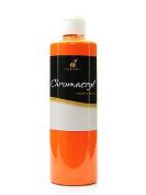 Chroma Inc. Chromacryl Students' Acrylic Paints orange vermilion pint [PACK OF 2 ]