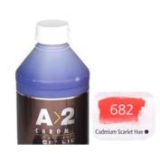 A_2 Student Acrylic 1 Litre Bottle - Cadmium Scarlet Hue