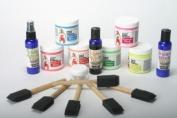 Black Light Liquid Latex Body Paint Kit