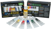 wOil Six 37ml Water Mixable Oil Colours and Medium, Water Mixable Oil Set