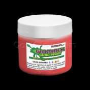 Glominex Glow Paint 240ml Jar Red
