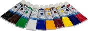 Tri-Art High Viscosity Paint, 10 by 60ml, Professional-FQ Acrylic Set