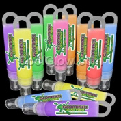 Glominex Glow Paint 30ml Assorted Tubes - 12ct