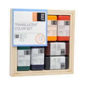 R & F Encaustic Paints Translucent Colours, Set of 6