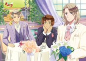 Hetalia The Beautiful World - France - Spain - Prussia - Bath Poster