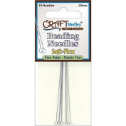 Soft-Flex Beading Needles Fine Point .23mm 10/Pkg-