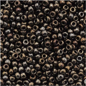 Toho Round Seed Beads 11/0 #83 'Metallic Iris Brown' 8 Gramme Tube