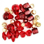 Jesse James Beads 5903 Design Elements Taj Mahal, Red
