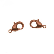Nunn Design Antiqued Copper Plated Lobster Clasps 11.5mm