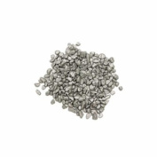 Vase Filler Rocks, Silver, 2 lbs per bag
