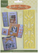 Ecstasy Crafts Border Embossing Stencil - Classic