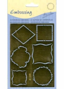 Ecstasy Crafts Mini Frame Embossing Stencil # 1