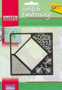 Ecstasy Crafts Switch Embossing Stencil - Square/Bees