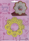 Ecstasy Crafts Spring Card Template - Sunflower