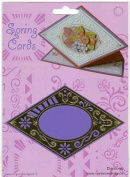 Ecstasy Crafts Spring Card Template- Oval