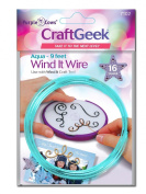 Purple Cows Craftgeek Wind It Wire Refills, 3-Feet Length