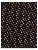 Amaco WireForm Metal Mesh copper woven impression mesh - 0.3cm . pattern mini-pack [PACK OF 2 ]