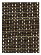 Amaco WireForm Metal Mesh brass expandable designer's mesh - 18 mesh 5 ft. roll