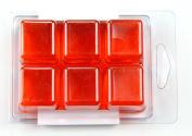 Stained Glass Citrus Orange Soap Colour Bar