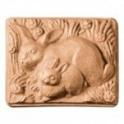 2 Rabbits Soap Mould