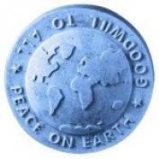 Peace On Earth Globe Soap Mould