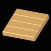 2-lb. Rect. Slab Mould- 8 bars