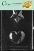 Cybrtrayd Heart/Star Soap Mould