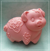 Longzang Cute Pig S0164 Craft Art Silicone Soap mould Craft Moulds DIY Handmade soap moulds