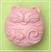 Cat like Fish 50293 Craft Art Silicone Soap mould Craft Moulds DIY Handmade soap moulds