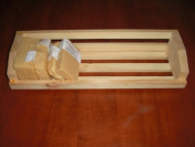 Wooden Soap Rack Soap Display for Homemade Soap Holds 13 2.5cm bars