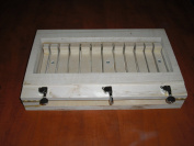 Wooden Wire Soap Loaf Cutter 2.5cm Bars Handmade in U.s.a