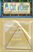 Cut & Clear - Clear Glass Triangle - Classy Glass Shapes by Provo Craft