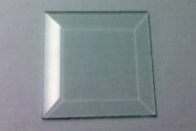 7.6cm X 7.6cm Clear Glass Bevels-Pack of 6