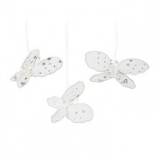 6 Nylon Butterfly Ornaments